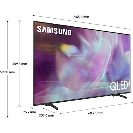 Televizor Samsung 43Q60A, 108 cm, Smart, 4K Ultra HD, QLED, Clasa G