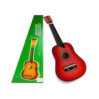 Fa klasszikus gitár, pink színű 60 cm 2243