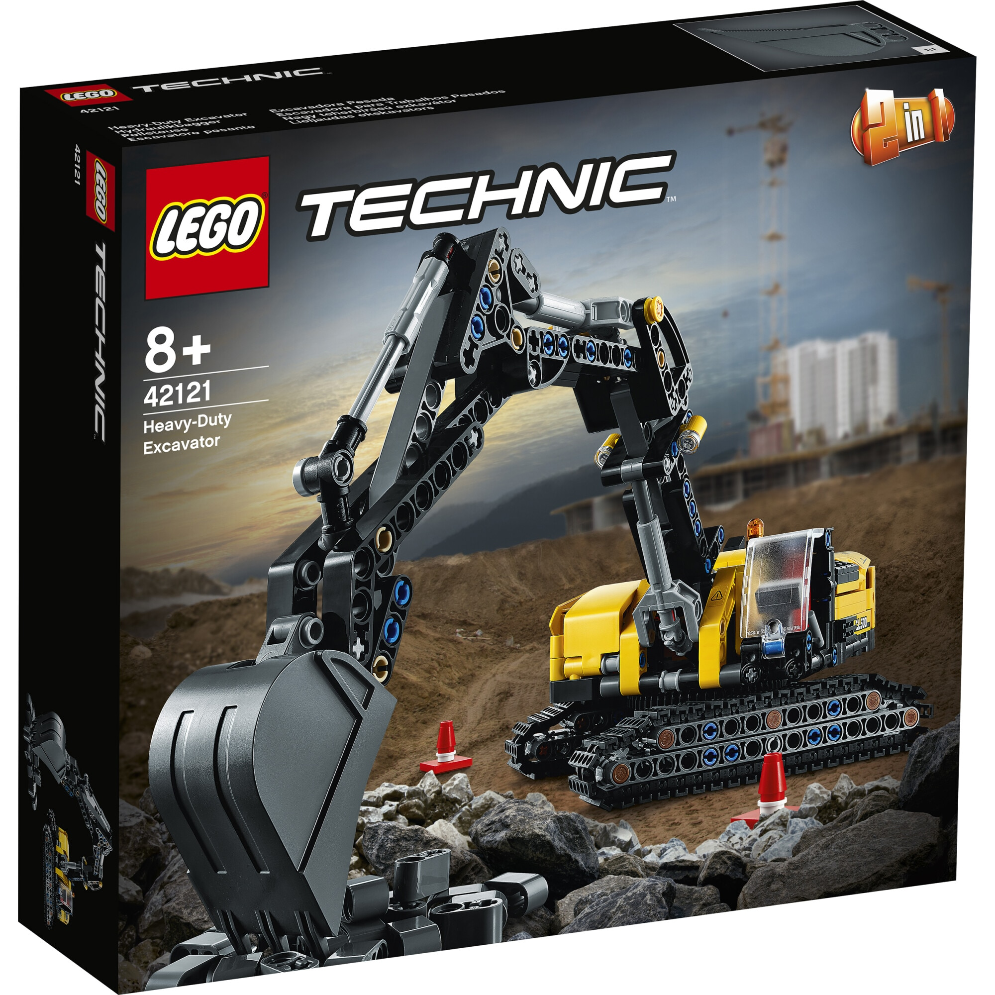 Fotografie LEGO Technic - Excavator de mare putere 42121, 569 piese
