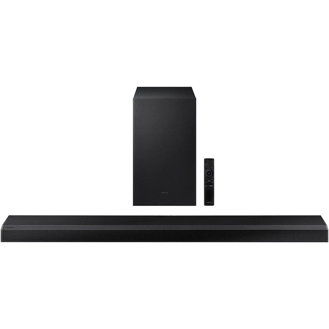 Fotografie Soundbar Samsung HW-Q700A, 3.1.2 Ch, 330W, Wireless Subwoofer, Dolby Atmos, DTS:X, Wi-Fi, eARC, Tap Sound, Voice Assistant