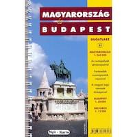 Magyarország és Budapest duó atlasz spirálkötésben (2011)