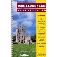 Magyarország autósatlasz spirálkötéssel (2011)