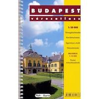 Budapest városatlasz spirálkötésben (2011)