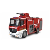 Camion RC cu telecomanda Mercedes-Benz Arocs Pompieri, 480mm, 1:18, 2 4GHz, RTR