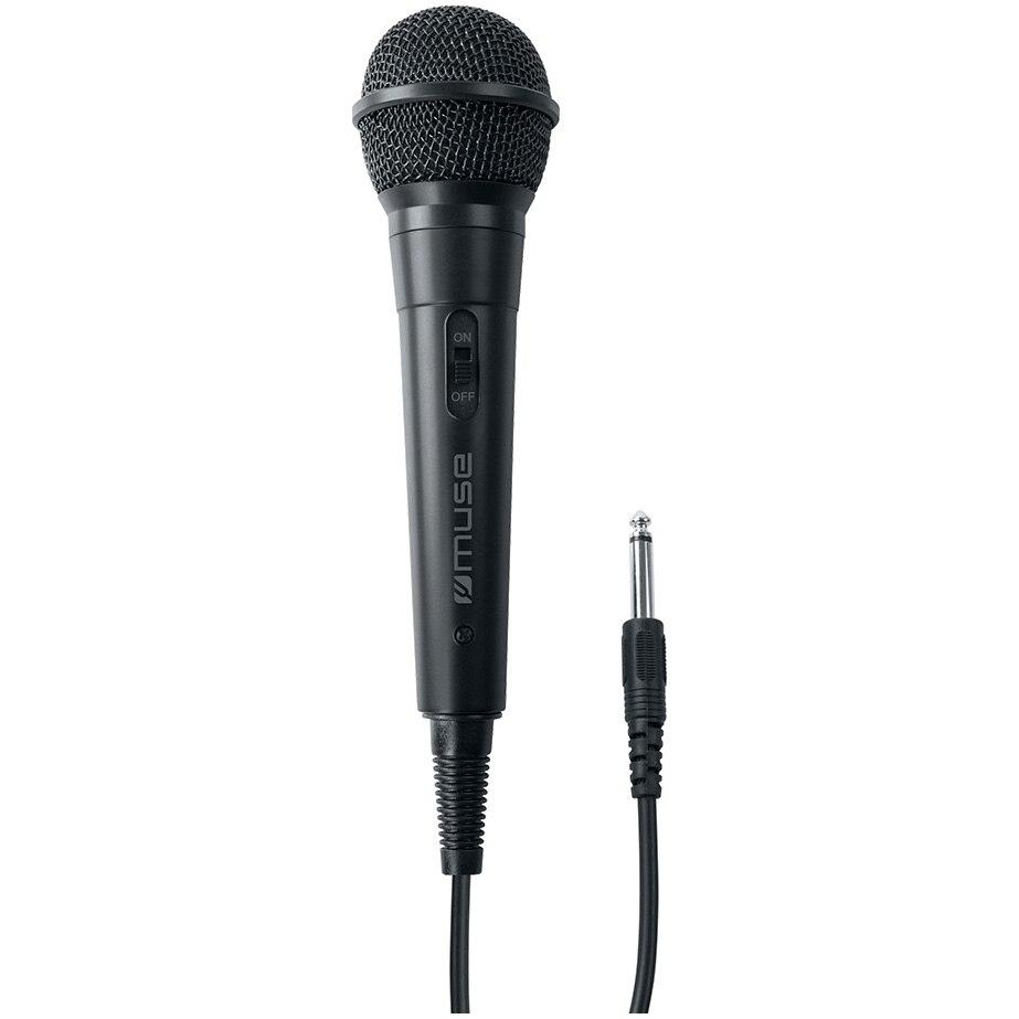 Fotografie Microfon profesional cu fir Muse MC-20 B, Jack 6.3mm