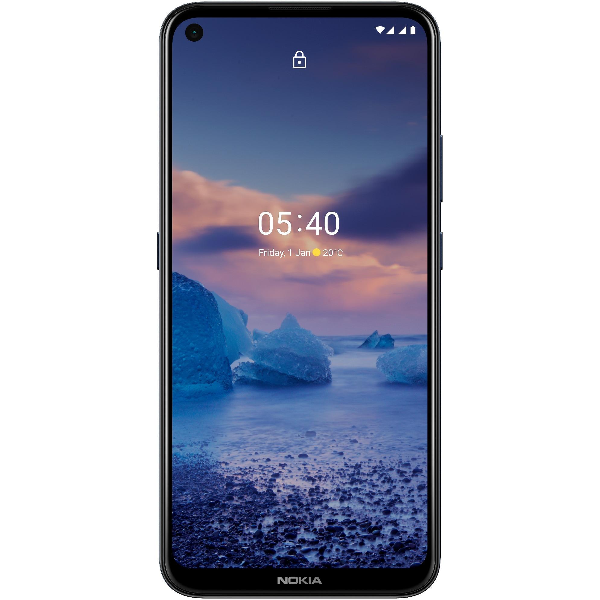 Fotografie Telefon mobil Nokia 5.4 NFC, Dual SIM, 64GB, 4G, Blue