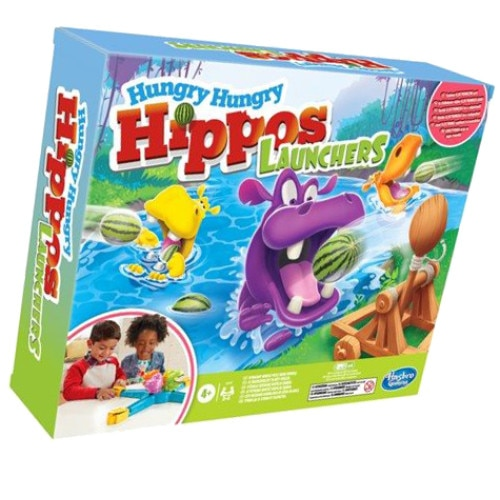 Fotografie Joc Hungry Hungry Hippos Launchers