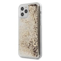 Калъф Guess GUHCP12MGLHFLGO Glitter Charms за iPhone 12/12 Pro, Gold