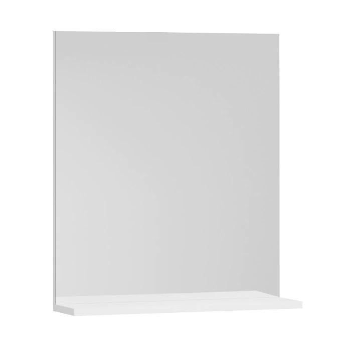 Fotografie Oglinda cu polita Badenmob Seria 055,50x68x14 cm, Alb