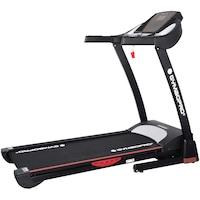 Banda alergare, 1.75 cai putere, viteza: 1-16 km/h, inclinare automata 1-15%, greutate maxima utilizator: 110 kg, culoare negru-rosu