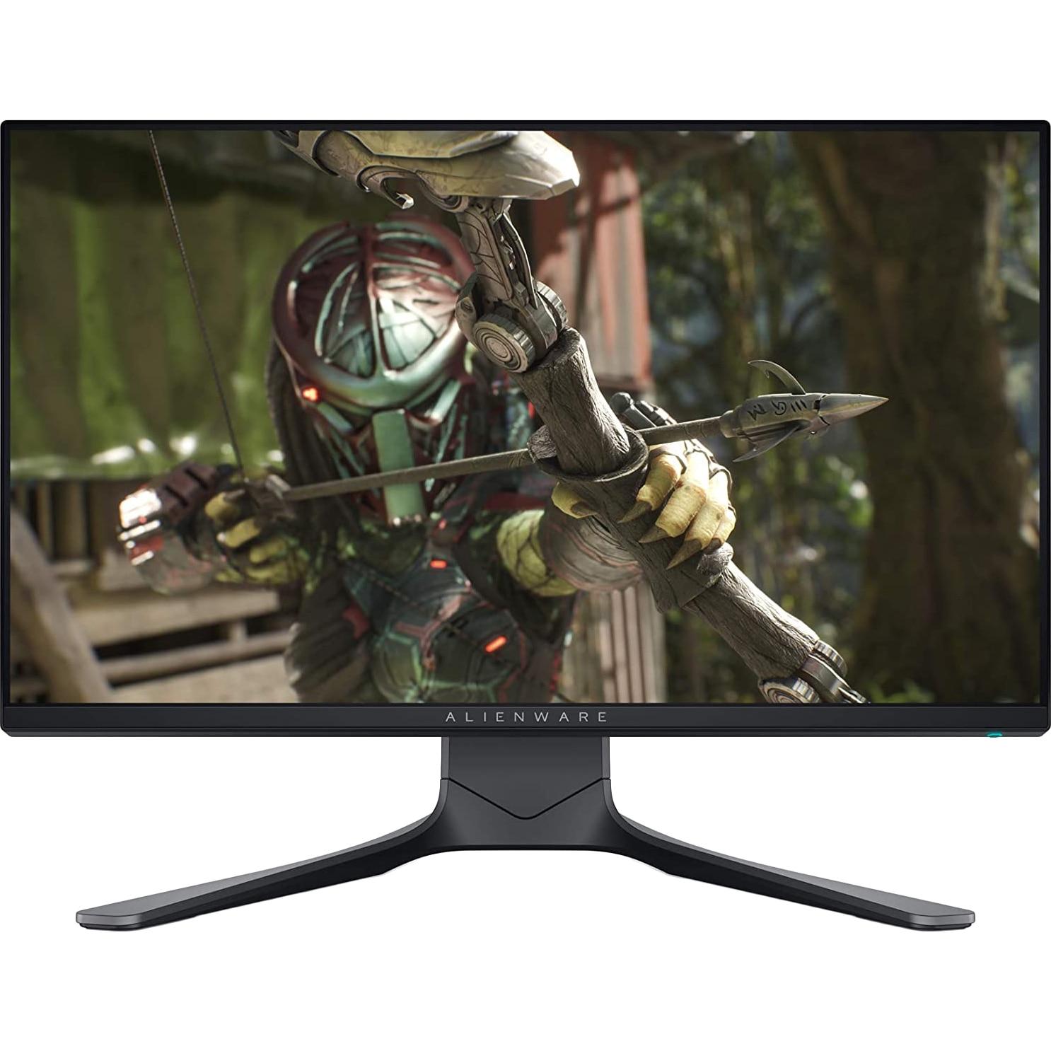 Fotografie Monitor Gaming Dell LED IPS 24.5'' Full HD, 240Hz, 1ms, G-SYNC, FreeSync, Display Port, 2xHDMI, USB, Pivot, AW2521HFA