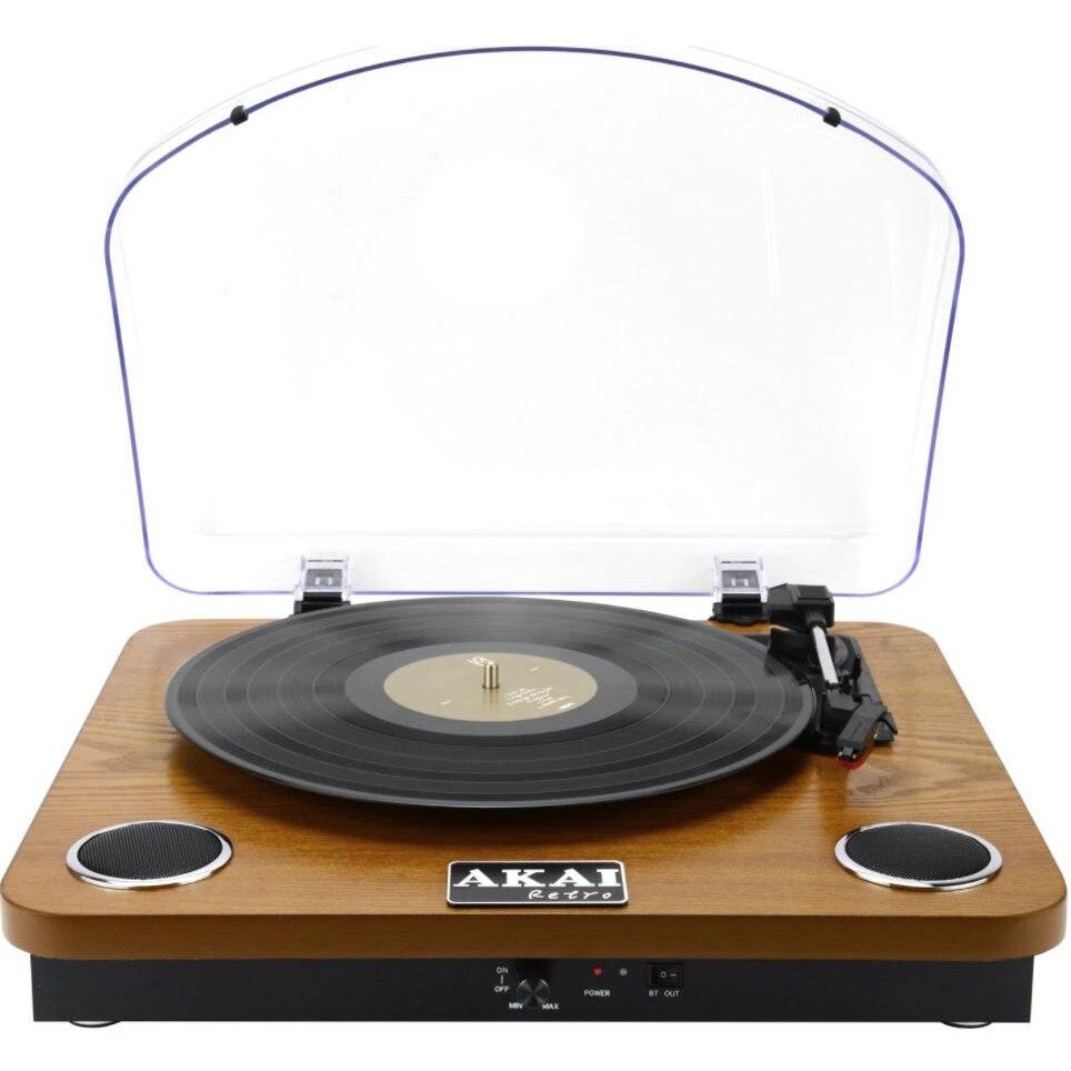 Fotografie Pick-up stereo AKAI ATT-11BTN, Bluetooth , difuzoare incorporate