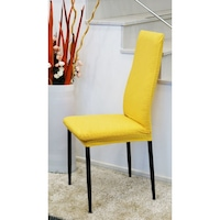 scaun galben mustar