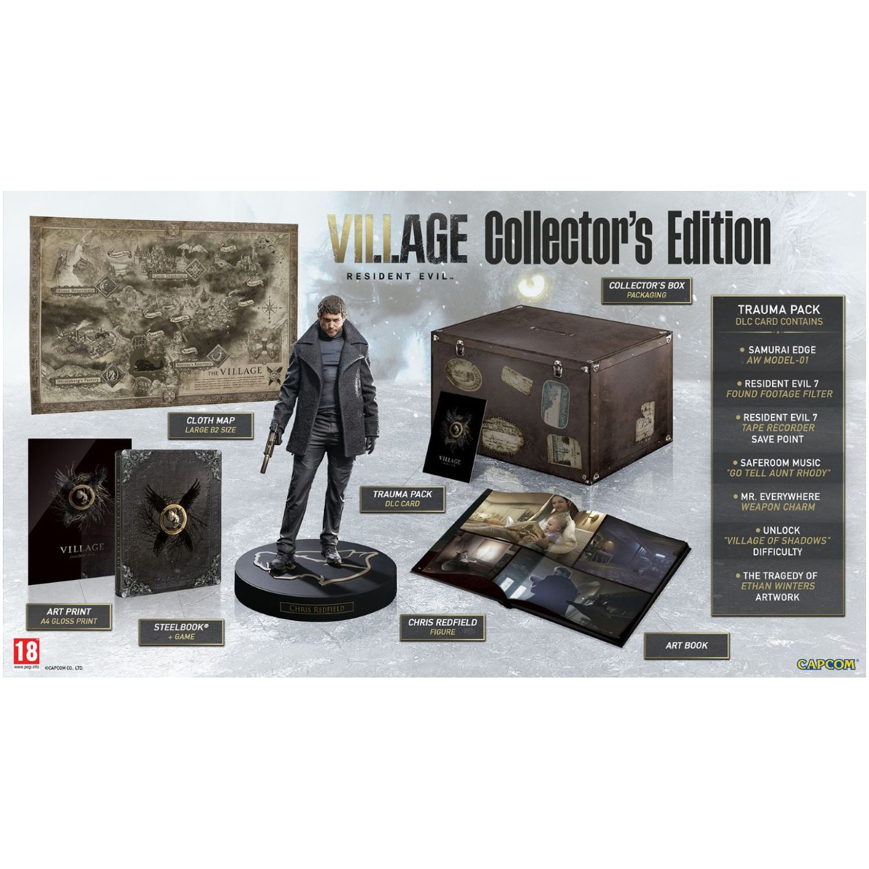 Fotografie Joc Resident Evil Village Collector's Edition pentru PlayStation 5