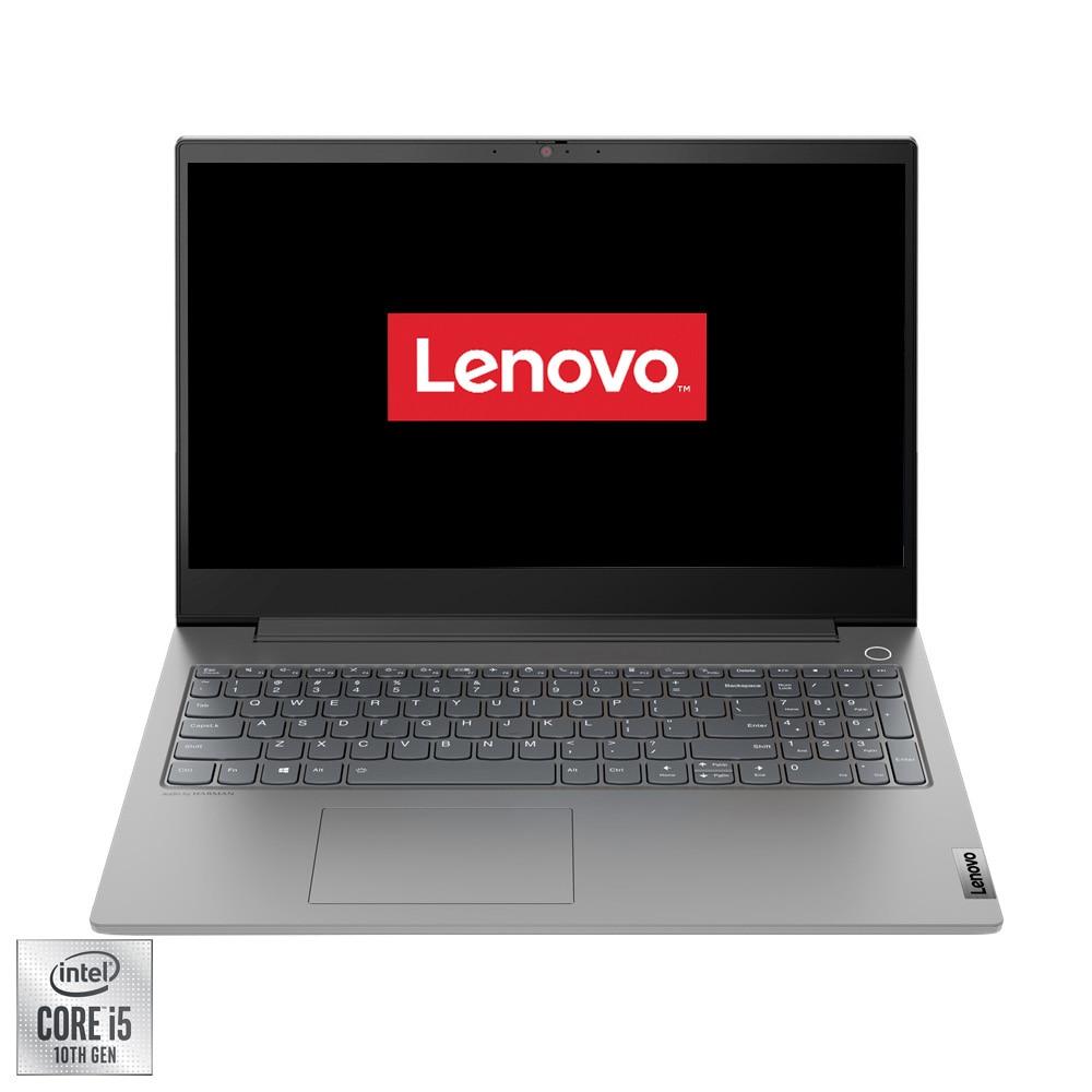 "Fotografie Laptop Lenovo ThinkBook 15p IMH cu procesor Intel Core i5-10300H pana la 4.50 GHz, 15.6"", Full HD, 16GB, 512GB SSD, nVIDIA GeForce GTX 1650 Max-Q 4GB, Free DOS, Mineral Grey"