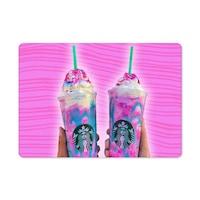 Starbucks unikornis 1422 hűtőmágnes
