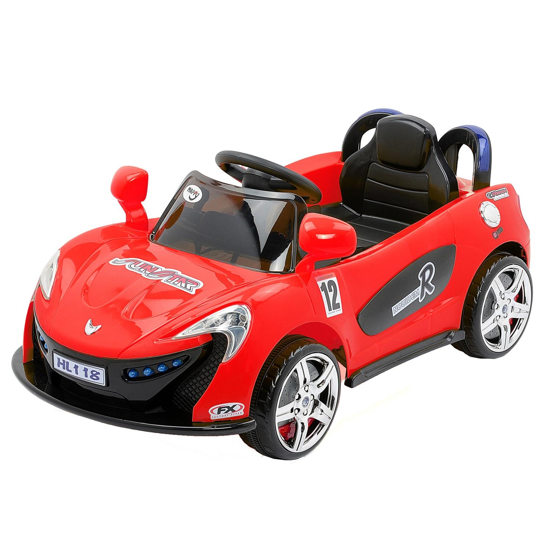 Fotografie Masinuta electrica pentru copii, cu telecomanda, Mappy, Aero Red