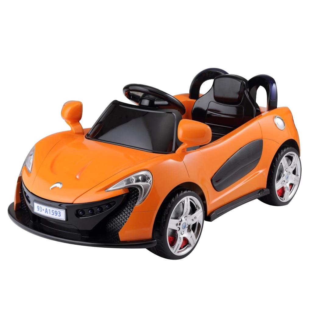 Fotografie Masinuta electrica pentru copii, cu telecomanda, Mappy, Aero Orange