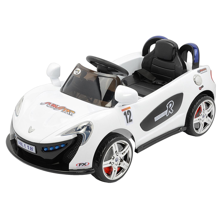 Fotografie Masinuta electrica pentru copii, cu telecomanda, Mappy, Aero White