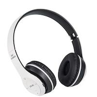 Bluetooth headset, Feher, Air, P47, vezeték nélküli, mikrofon, memóriakártya, kihangosító hívá