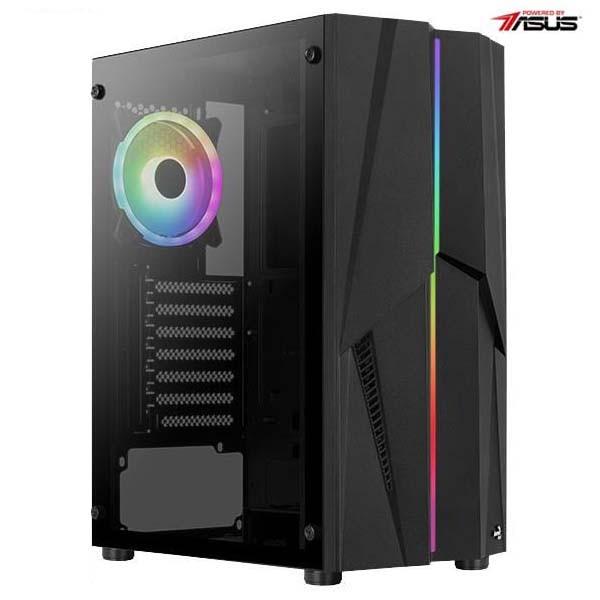 Fotografie Sistem Desktop PC Serioux Powered by ASUS cu procesor AMD Ryzen™ 5 4650G pana la 4.20GHz, 8GB DDR4, 500GB SSD, Wi-Fi, Radeon™ Graphics 7, No OS