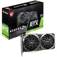 Placa video MSI GeForce® RTX™ 3060 VENTUS 2X OC, 12GB GDDR6, 192-bit