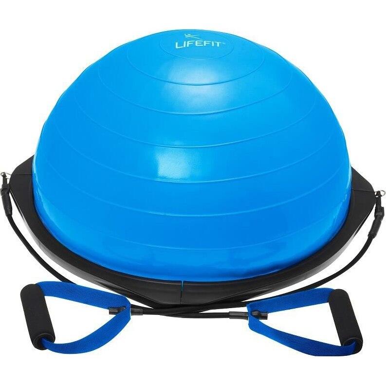 Fotografie Minge echilibru LifeFit, tip Bosu, albastru