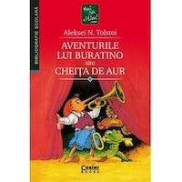 Aventurile lui Buratino sau cheita de aur, Aleksei N. Tolstoi, román nyelvű könyv