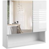 Tükrös fürdőszoba szekrény 54 x 15 x 55 cm