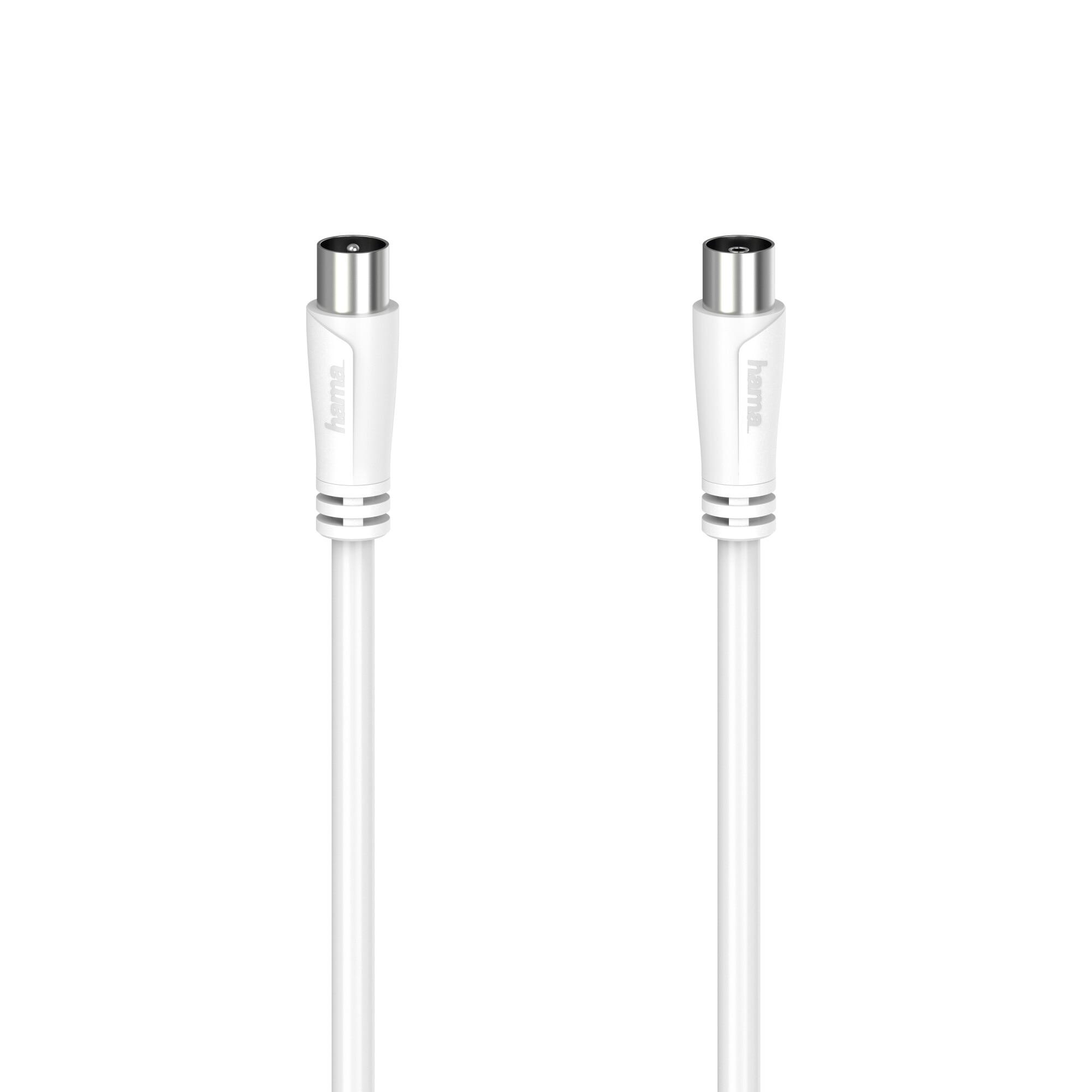 Fotografie Cablu coaxial Hama 205045, 90db, 1.5 metri, alb