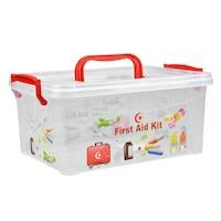 Tároló doboz, rajzokkal díszitett, 5 liter, 28x20x13cm