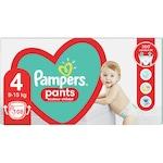 Пелени-гащички Pampers Pants Mega Box, Размер 4, 9-15 кг, 108 броя