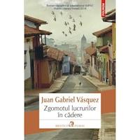 Zgomotul lucrurilor in cadere, román nyelvű köny