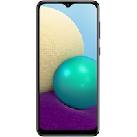 Samsung Galaxy A02 Mobiltelefon (2021), Dual Sim, 32 GB, 3 GB RAM, fekete