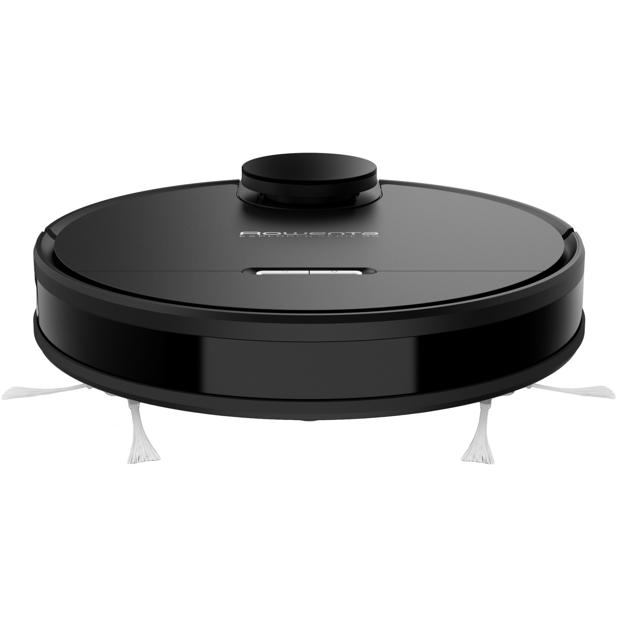 Fotografie Aspirator robot Rowenta X-Plorer Serie 95 Animal RR7975, 75W ,Navigare LiDar, Mop incorporat, 0.5L, 4 functii de curatare, Autonomie 225 min, Functie Auto Boost, Aplicatie dedicata pe smartphone, Negru