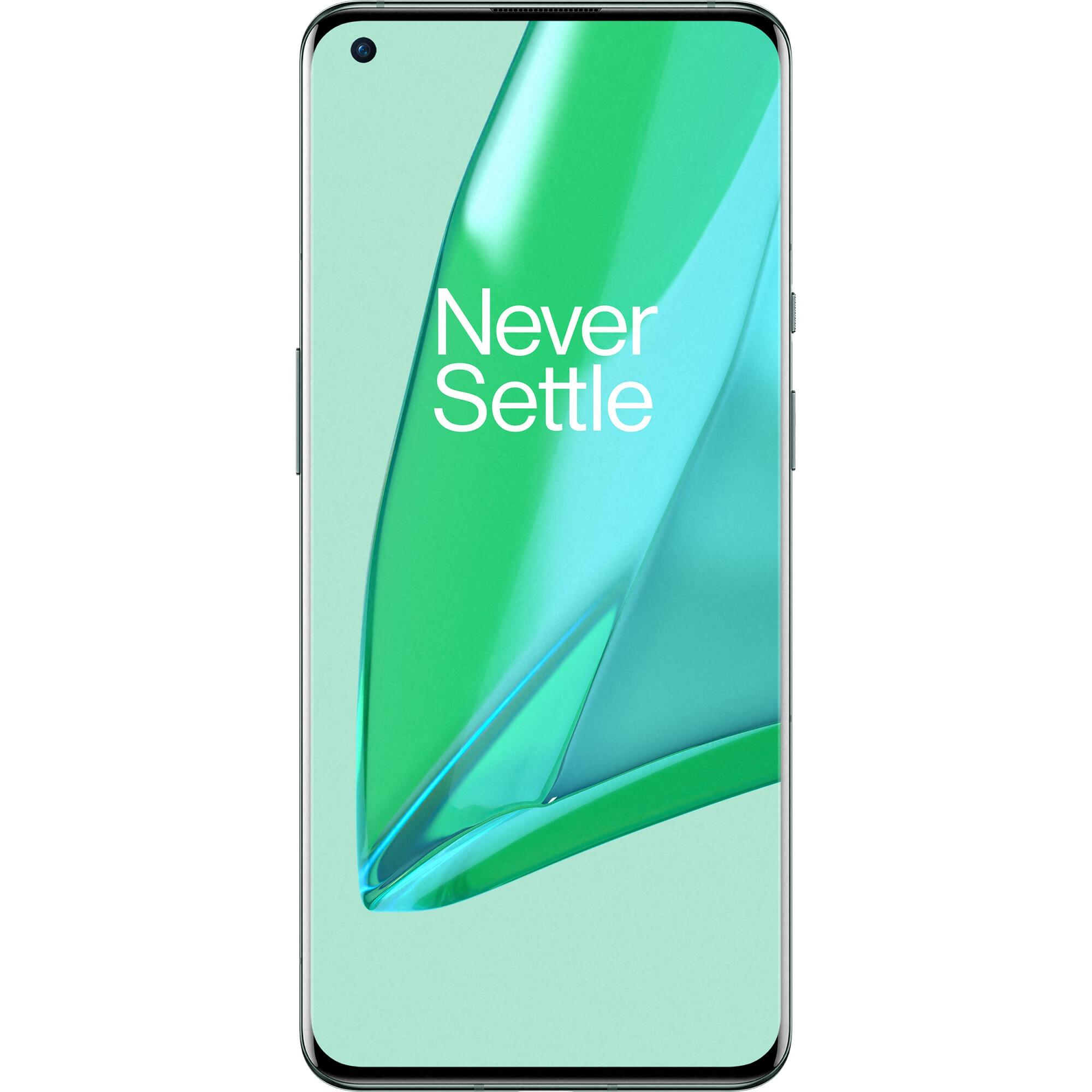 Fotografie Telefon mobil OnePlus 9 Pro, Dual SIM, 256GB, 12GB RAM, 5G, Pine Green