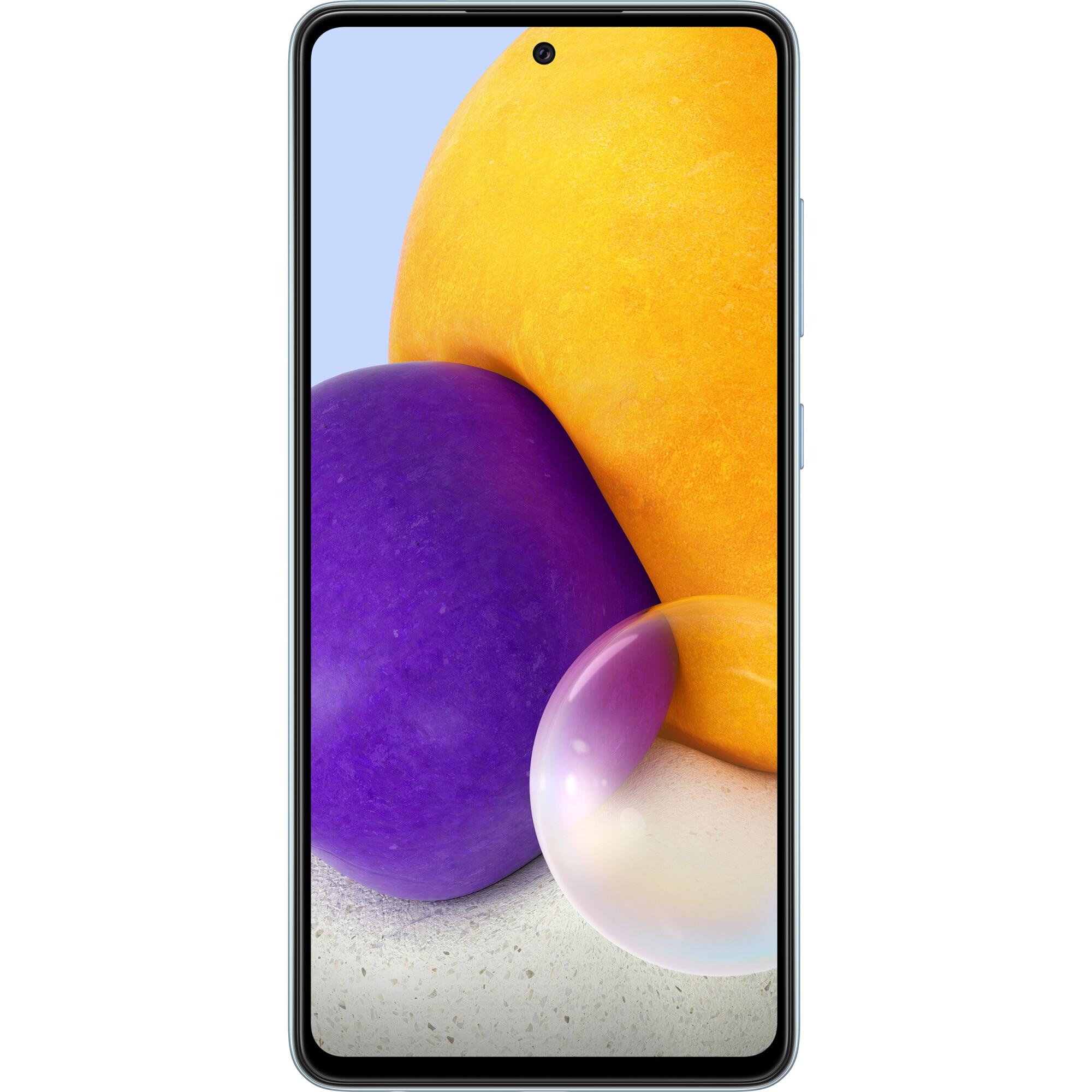 Fotografie Telefon mobil Samsung Galaxy A72, Dual SIM, 128GB, 6GB RAM, 4G, Blue