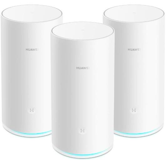 Fotografie Sistem Wi-Fi Mesh Huawei WS5800-20 (3-pack), Quad-core 1.4 GHz CPU, 256MB RAM, AC2200 Tri-band