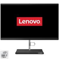 """Настолен компютър All-in-One Lenovo V30a-22IML, Intel® Core™ i3-10110U до 4.10 GHz, Comet Lake, 21.5"""", Full HD, 4GB DDR4, 128GB SSD, Intel UHD Graphics, Free DOS"""