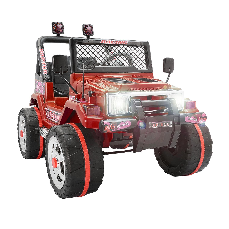 Fotografie Masinuta electrica pentru copii Mappy, cu 2 locuri, Drifter Jeep, Rosu