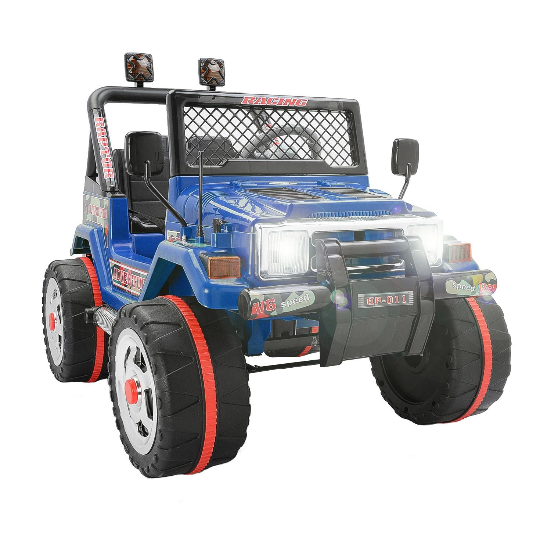 Fotografie Masinuta electrica pentru copii Mappy, cu 2 locuri, Drifter Jeep, Albastru
