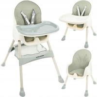 scaun verde inchis bebe 7 luni