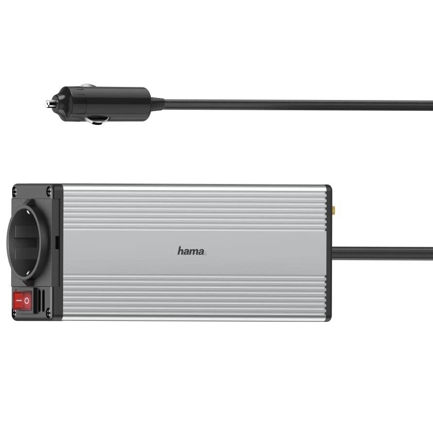 Fotografie Alimentator invertor laptop auto Hama DC/AC, 150W