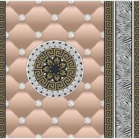 Tapéta DEGRETS 1429 Papír, Eileen bézs, Méret: 0.53m x 10.05m = 5.3 m2