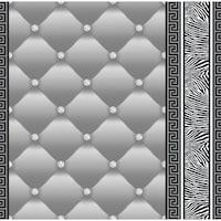 Tapéta DEGRETS 1452 Papír, Eileen 2 szürke, Méret: 0.53m x 10.05m = 5.3 m2