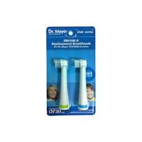 Резервни глави за детска електрическа четка Dr.Mayer GTS1000K Blue, 2 броя