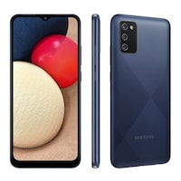 Смартфон Samsung Galaxy A02s, 32GB, 3GB RAM, Dual SIM, Blue