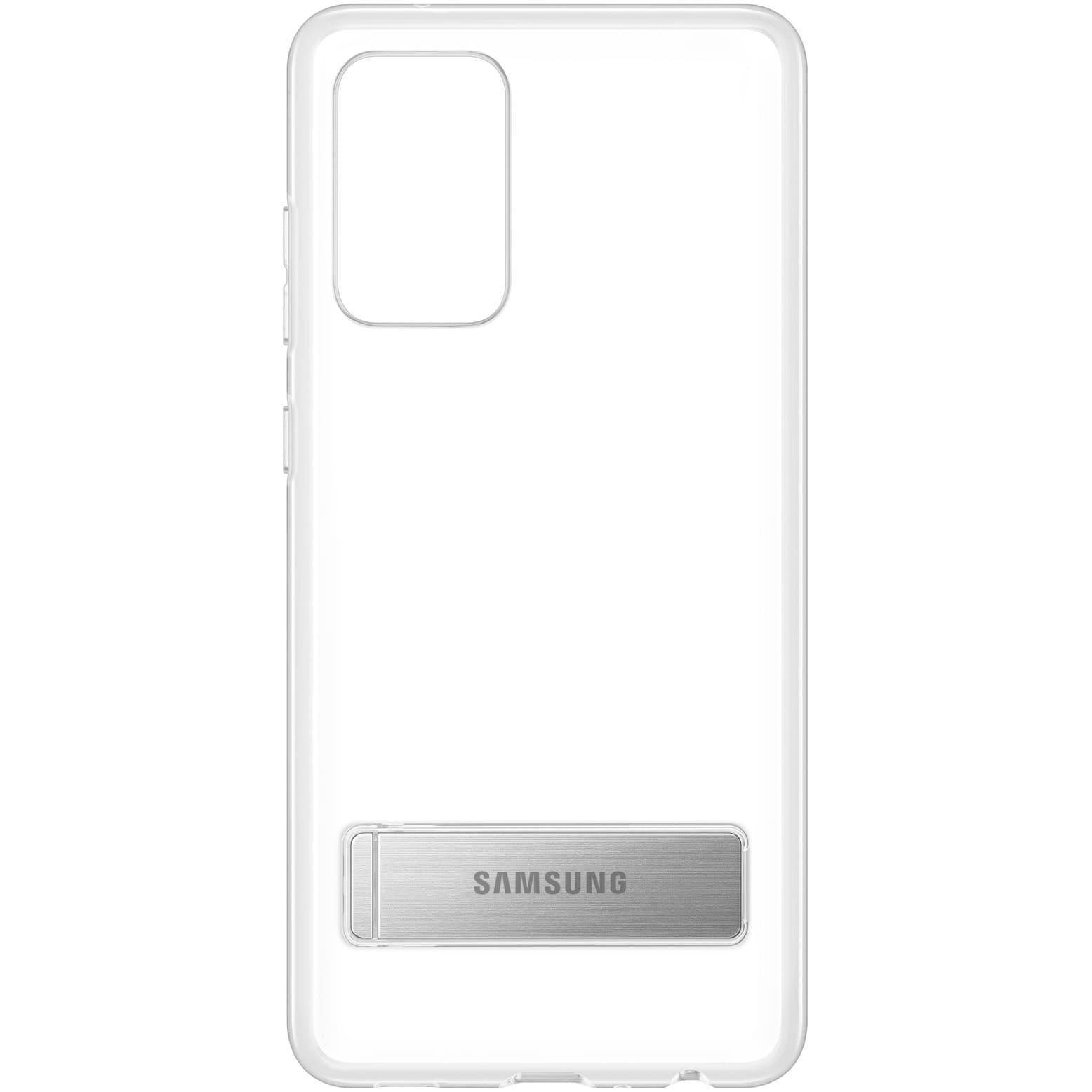 Fotografie Husa de protectie Samsung pentru A72, Clear Standing Cover, Transparent