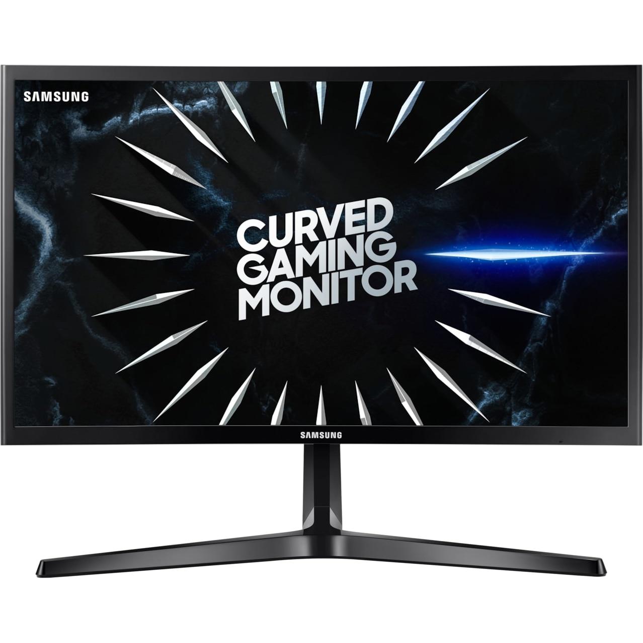 "Fotografie Monitor Curbat Gaming LED VA Samsung Odyssey 23.5"", 144 Hz, Freesync, Full HD, Display Port, Negru, LC24RG50FQRXEN"