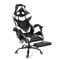 Insma gamer irodai forgószék, főnöki fotel,Relax főnöki forgószék, fehér